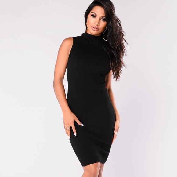 8401eef1735 NEW Fashion Nova Sleeveless Black Bodycon Dress M